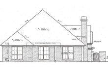 Dream House Plan - European Exterior - Rear Elevation Plan #310-957