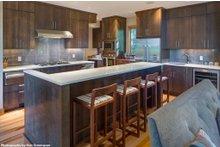 Contemporary Interior - Kitchen Plan #48-656