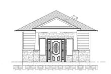 House Plan Design - Cottage Exterior - Front Elevation Plan #1077-7