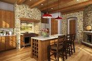 European Style House Plan - 4 Beds 3.5 Baths 3922 Sq/Ft Plan #942-38 Interior - Kitchen