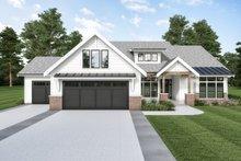 Dream House Plan - Farmhouse Exterior - Front Elevation Plan #1070-118