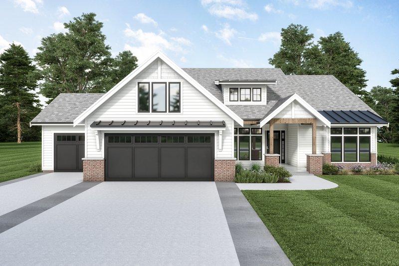 Farmhouse Style House Plan - 3 Beds 2.5 Baths 3049 Sq/Ft Plan #1070-118