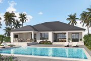 Contemporary Style House Plan - 3 Beds 2.5 Baths 2329 Sq/Ft Plan #938-110
