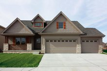 Architectural House Design - Craftsman Exterior - Front Elevation Plan #20-2317