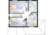 Country Style House Plan - 3 Beds 2 Baths 1530 Sq/Ft Plan #23-262 Floor Plan - Upper Floor