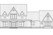 Farmhouse Style House Plan - 4 Beds 4.5 Baths 4103 Sq/Ft Plan #1074-29 Exterior - Front Elevation