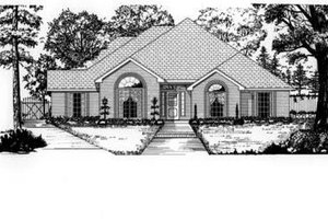 House Design - European Exterior - Front Elevation Plan #62-110