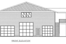 Traditional Exterior - Other Elevation Plan #117-538