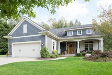Dream House Plan - Traditional Exterior - Front Elevation Plan #901-144