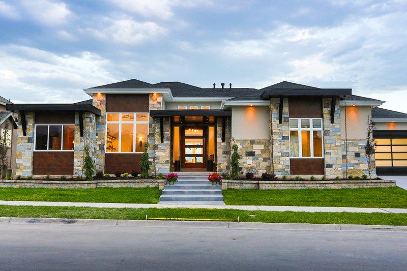 Dream House Plan - Modern Exterior - Front Elevation Plan #920-18