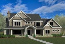 Craftsman Exterior - Front Elevation Plan #920-8