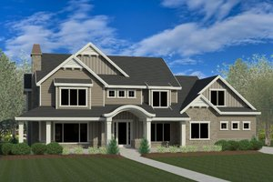 Home Plan Design - Craftsman Exterior - Front Elevation Plan #920-8