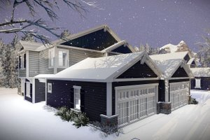 Traditional Exterior - Front Elevation Plan #70-1474