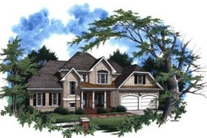 Home Plan Design - Traditional Exterior - Front Elevation Plan #41-139