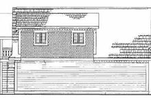 House Blueprint - Country Exterior - Rear Elevation Plan #72-288