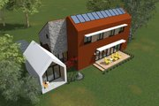 Modern Style House Plan - 3 Beds 2.5 Baths 1715 Sq/Ft Plan #933-7