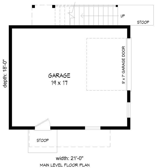 Dream House Plan - Modern Floor Plan - Main Floor Plan #932-390