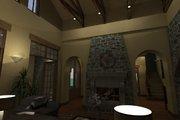 Mediterranean Style House Plan - 4 Beds 3.5 Baths 3691 Sq/Ft Plan #120-163