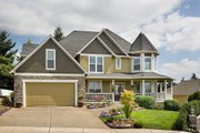 Victorian Style House Plan - 4 Beds 3 Baths 2518 Sq/Ft Plan #48-108 Exterior - Front Elevation