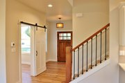 Ranch Style House Plan - 3 Beds 2.5 Baths 2004 Sq/Ft Plan #1070-28 Interior - Entry