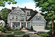 Craftsman Exterior - Front Elevation Plan #929-1061