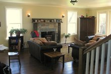 House Plan Design - Farmhouse Interior - Family Room Plan #485-1