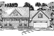 Southern Style House Plan - 3 Beds 2 Baths 1697 Sq/Ft Plan #42-244