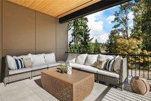 House Plan Design - Contemporary Exterior - Outdoor Living Plan #1066-62