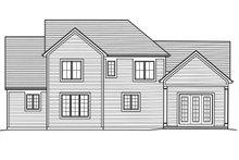 Traditional Exterior - Rear Elevation Plan #46-873
