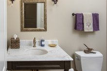 European Interior - Bathroom Plan #929-859