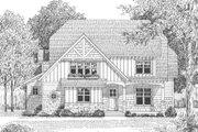 European Style House Plan - 4 Beds 3 Baths 3430 Sq/Ft Plan #413-104