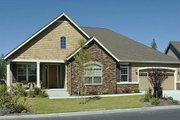 Craftsman Style House Plan - 3 Beds 2 Baths 2013 Sq/Ft Plan #48-292 Exterior - Front Elevation