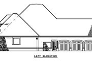 European Style House Plan - 4 Beds 4 Baths 3766 Sq/Ft Plan #17-2477 Exterior - Other Elevation