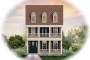 Colonial Style House Plan - 3 Beds 2.5 Baths 2535 Sq/Ft Plan #81-1369 Exterior - Front Elevation