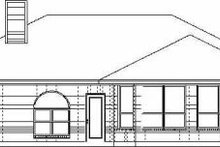 Dream House Plan - Traditional Exterior - Rear Elevation Plan #84-117