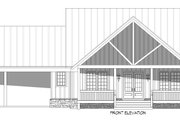 Country Style House Plan - 3 Beds 2.5 Baths 2450 Sq/Ft Plan #932-360 Exterior - Front Elevation