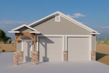 Dream House Plan - Traditional Exterior - Front Elevation Plan #1060-87