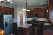 Traditional Style House Plan - 3 Beds 2.5 Baths 1763 Sq/Ft Plan #20-2123 Interior - Kitchen