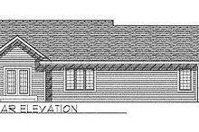 Traditional Exterior - Rear Elevation Plan #70-110