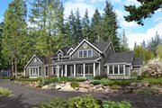 Southern Style House Plan - 3 Beds 2.5 Baths 3079 Sq/Ft Plan #1070-12 Exterior - Front Elevation