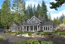 Architectural House Design - Southern Exterior - Front Elevation Plan #1070-12