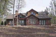 Dream House Plan - Craftsman Exterior - Rear Elevation Plan #892-13