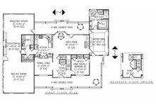 Farmhouse Floor Plan - Main Floor Plan Plan #11-124