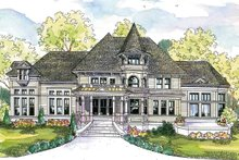House Plan Design - Victorian Exterior - Front Elevation Plan #124-559