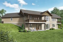 Craftsman Exterior - Rear Elevation Plan #48-942