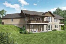 Craftsman Exterior - Rear Elevation Plan #48-942