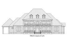 Colonial Exterior - Front Elevation Plan #1054-70