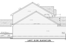 Architectural House Design - Traditional Exterior - Other Elevation Plan #20-2403