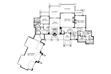 Modern Floor Plan - Main Floor Plan Plan #920-89