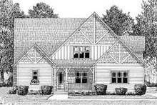Dream House Plan - Craftsman Exterior - Other Elevation Plan #413-138